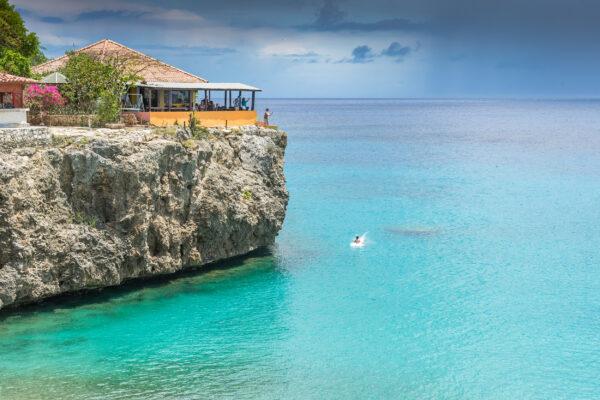 Curacao Playa Forti Klippen