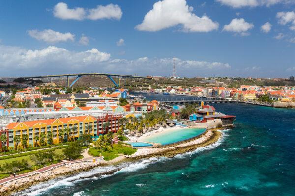 Curacao Willemstad Oben