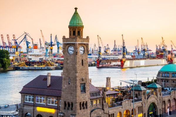 Deutschland Hamburg Hafen