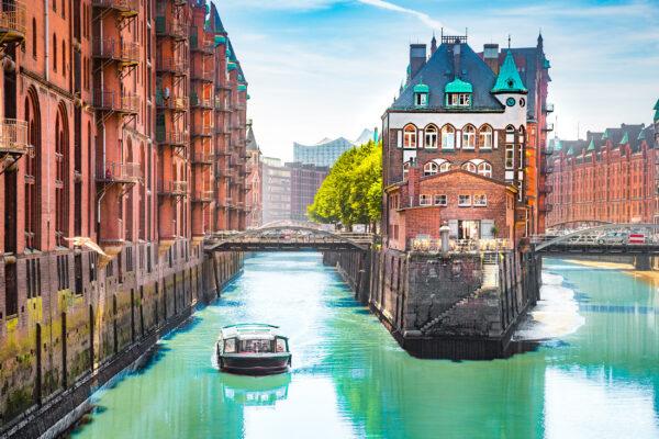Deutschland Hamburg Speicherstadt