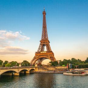Frankreich Paris Eiffelturm
