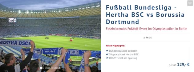 Fussballspiel Berlin
