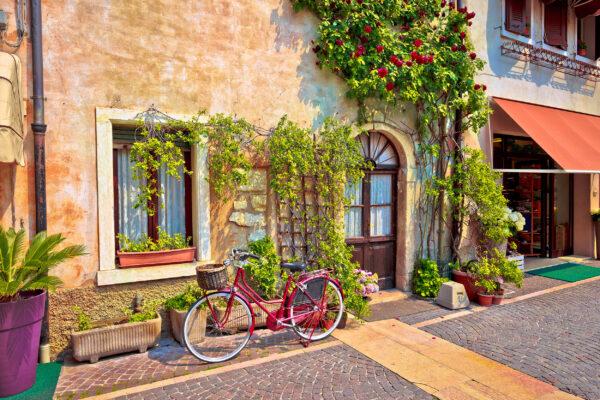 Gardasee Lazise Altstadt