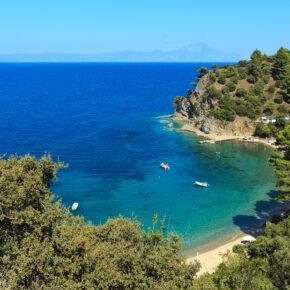 Griechenland: 6 Tage Chalkidiki im 3.5* Hotel mit Halbpension inklusive Flug, Transfer & Zug für 259€