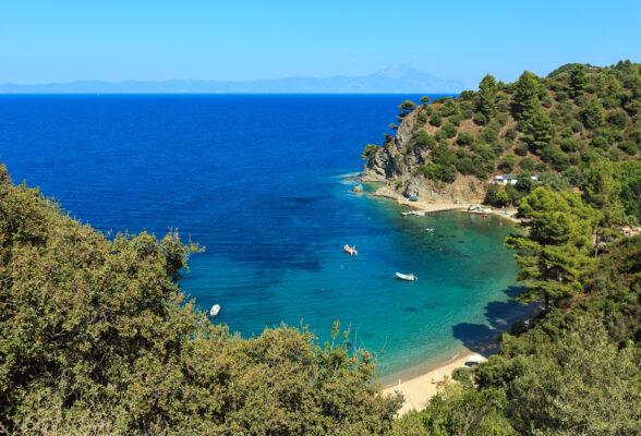 Griechenland Chalkidiki Kueste