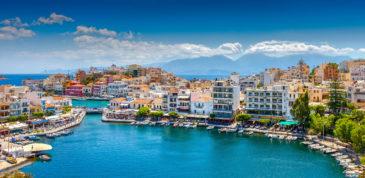 Mega fancy: 7 Tage Kreta im TOP 5* Luxus-Hotel mit Halbpension, Flug, Transfer & Zug für 5...