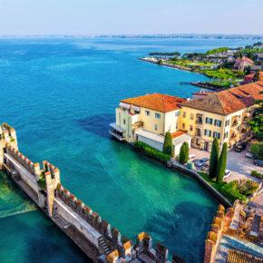 Sommer-Wochenende: 3 Tage Gardasee mit TOP 3* Hotel, Halbpension & Pool nur 79€