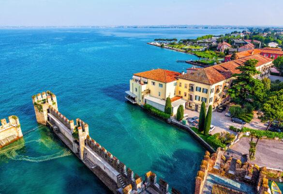 Italien Gardasee Aussicht Tower