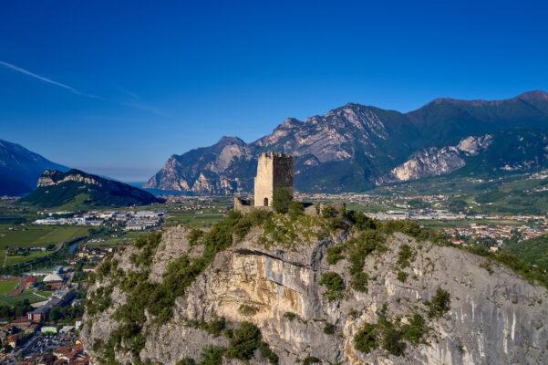 Italien Gardasee Burg Arco