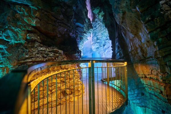 Italien Gardasee Riva del Garda Wasserfall Varone