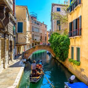 Langes Wochenende in Venedig: 4 Tage mit Unterkunft in der Altstadt & Flug nur 79€