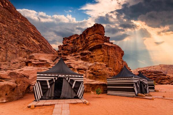 Jordanien Beduinen Camp