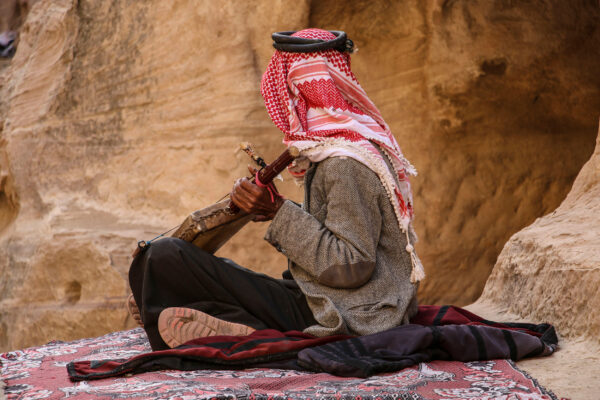 Jordanien Einheimischer