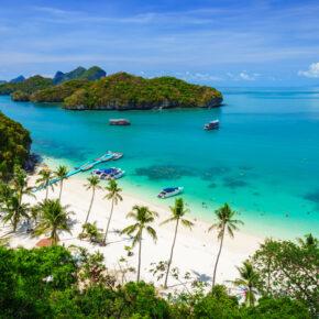 Meer Luxus in Thailand geht nicht: 10 Tage Koh Samui im 6* Hotel inkl. Frühstück, Flug & Transfer für 3.443 €