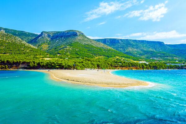 Kroatien Adria Brac Sandstrand