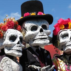 Mexiko Dia De Los Muertos tote Masken