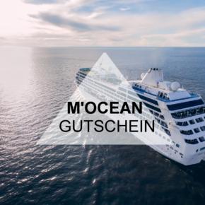 Exklusiver M'OCEAN Gutschein: 100€ auf Kreuzfahrten sparen