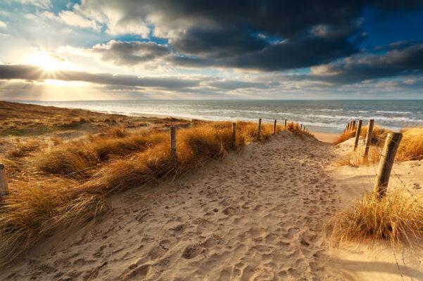 Niederlande Ostsee Sandweg Duehnen
