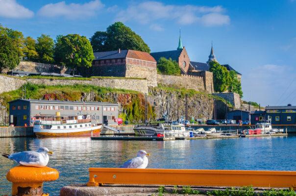 Norwegen Oslo Akershus Festung