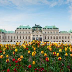 Oesterreich Wien Belvedere Palast