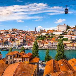 Kurztrip nach Porto: 4 Tage Portugal mit zentraler Unterkunft & Flug für 112€