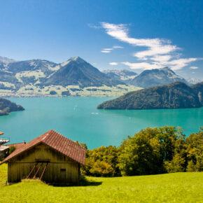 Auszeit am traumhaften Vierwaldstättersee: 4 Tage Schweiz, See & Berge mit Ferienwohnung ab 99€