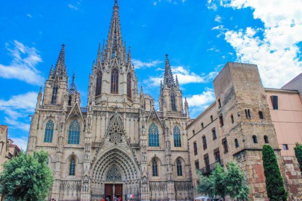 Spanien Barcelona Segrada Familia