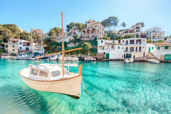 Spanien Mallorca Cala Figuera Boot