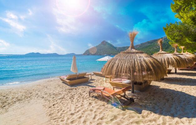 Spanien Mallorca Playa De Formentor