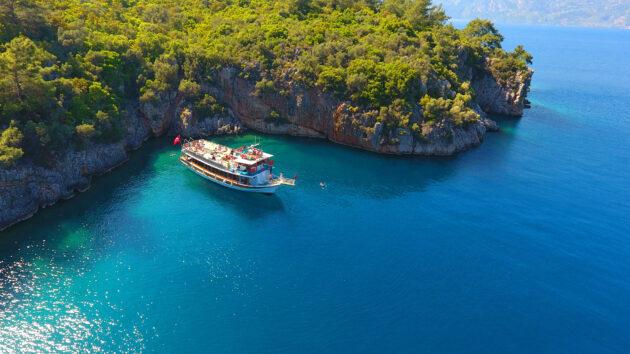 Türkei Side Boot Gokova By