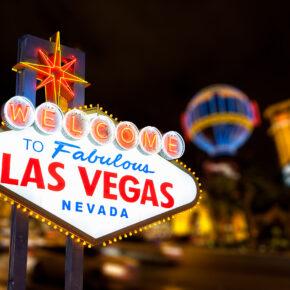 Go big or go home: 6 tägige Las Vegas Reise mit Flug, 3* Hotel ab 594€