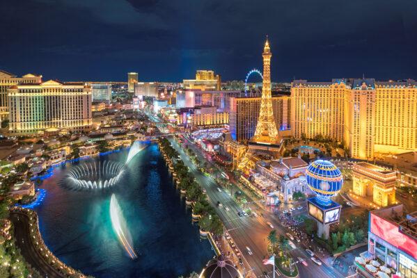 USA Las Vegas Strip By Night