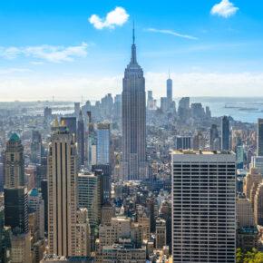 8 Tage New York im TOP 4* Designhotel mit Direktflug nur 625€