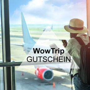 Exklusiver WowTrip Gutschein: Spart 20€ auf Euer Blind Booking