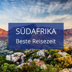 Beste Reisezeit Südafrika inkl. Klimatabellen & Infos zu den Jahreszeiten mit Aktivitäten
