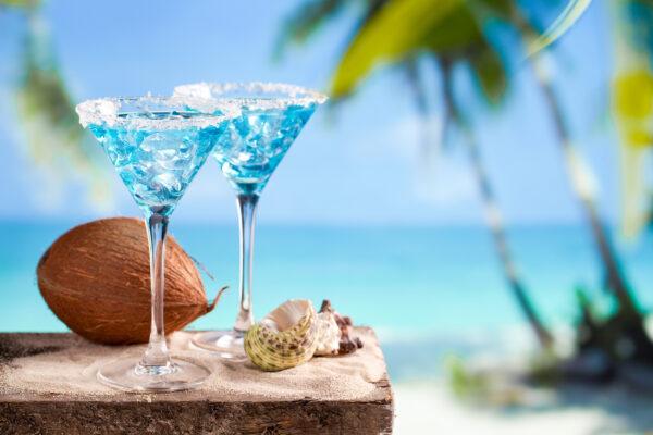 Curacao Cocktail Strand