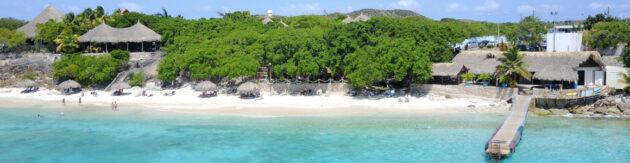 Curacao Kalki Strand Panorama