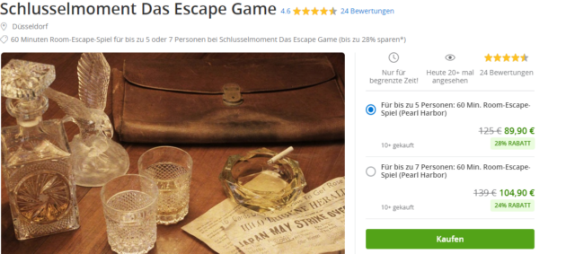 Escape Room Duesseldorf