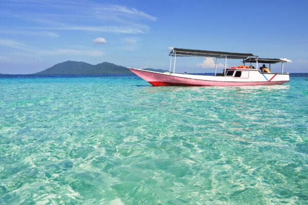 Indonesien Karimunjawa Meer Boot