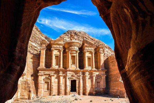 Jordanien Petra Höhle Unesco