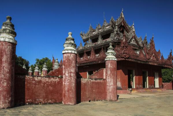 Myanmar Mandalay Bagaya Kyaung Monastery