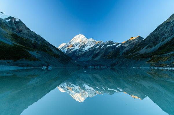 Neuseeland Hooker Lake