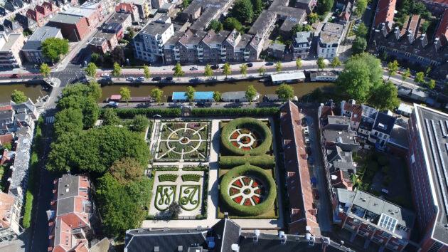 Niederlande Groningen Prinsentuin