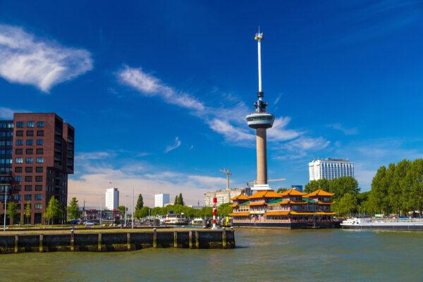 Niederlande Rotterdam Euromast