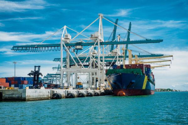 Niederlande Rotterdam Hafen