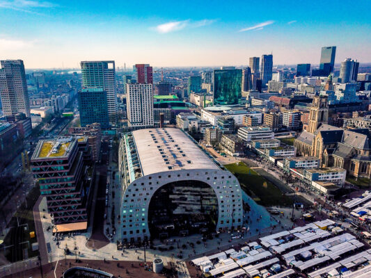 Niederlande Rotterdam Markthalle
