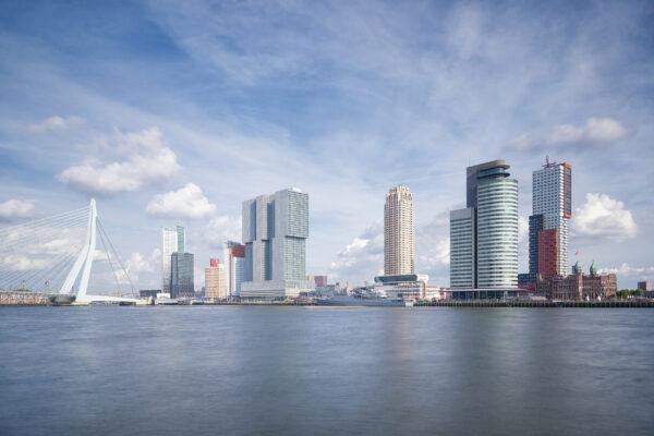 Niederlande Rotterdam Wilhelminapier