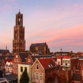 Niederlande am Wochenende: 2 Tage Utrecht im zentralen 4* Hotel mit Whirlpool im Zimmer & Frühstück ab 74€