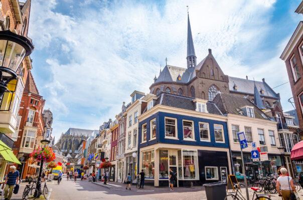 Niederlande Utrecht Shopping