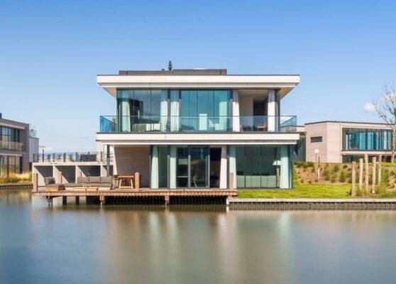 Niederlande Wasservilla